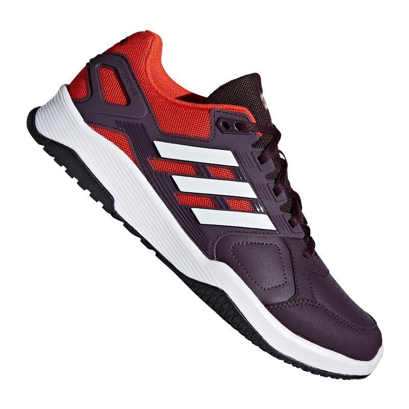 adidas Duramo 8 Running Lila Rot Weiss - schwarz