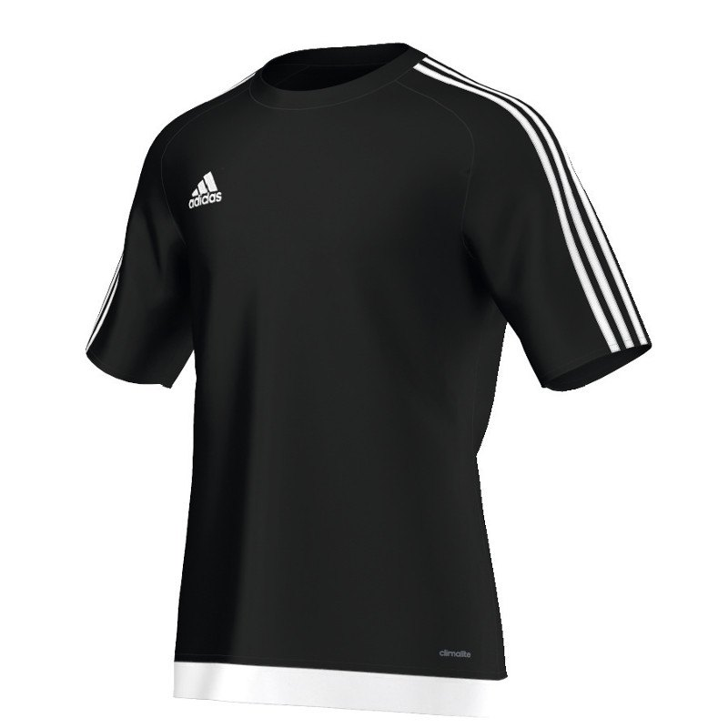 adidas estro 15 trikot kurzarm schwarz weiss schwarz. Black Bedroom Furniture Sets. Home Design Ideas