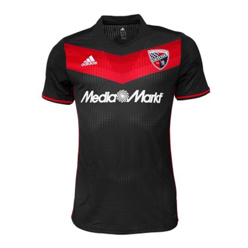 adidas FC Ingolstadt 04 Trikot Away 2017/2018 - schwarz