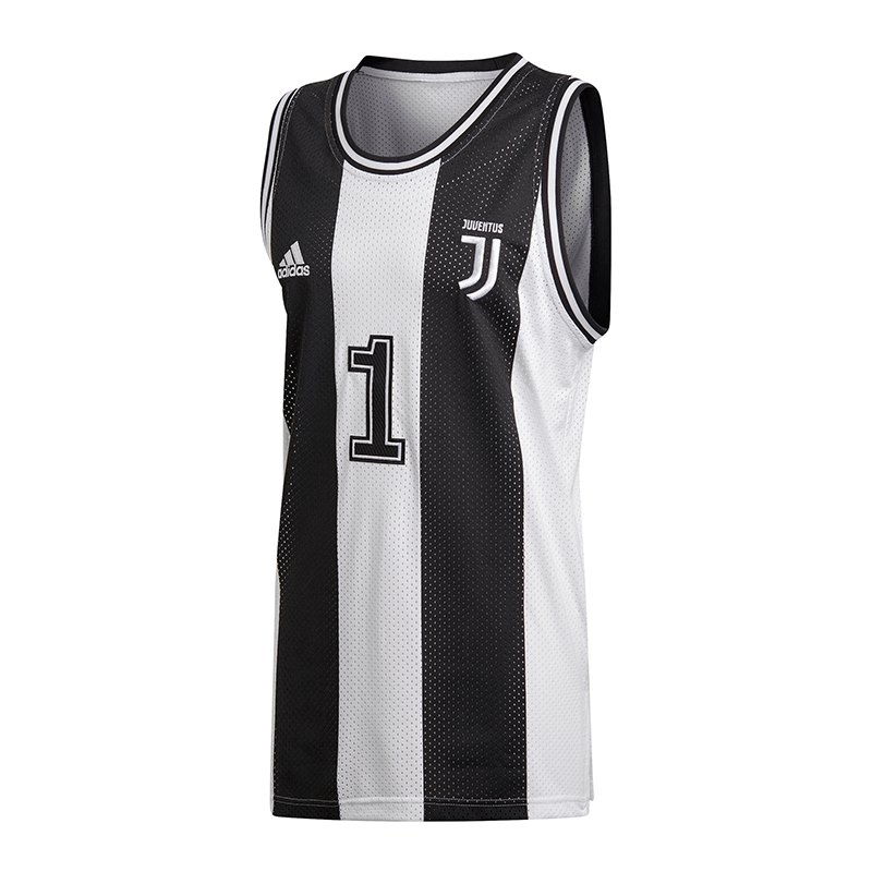 adidas FC Juventus Turin SSP Tank Top Schwarz - schwarz