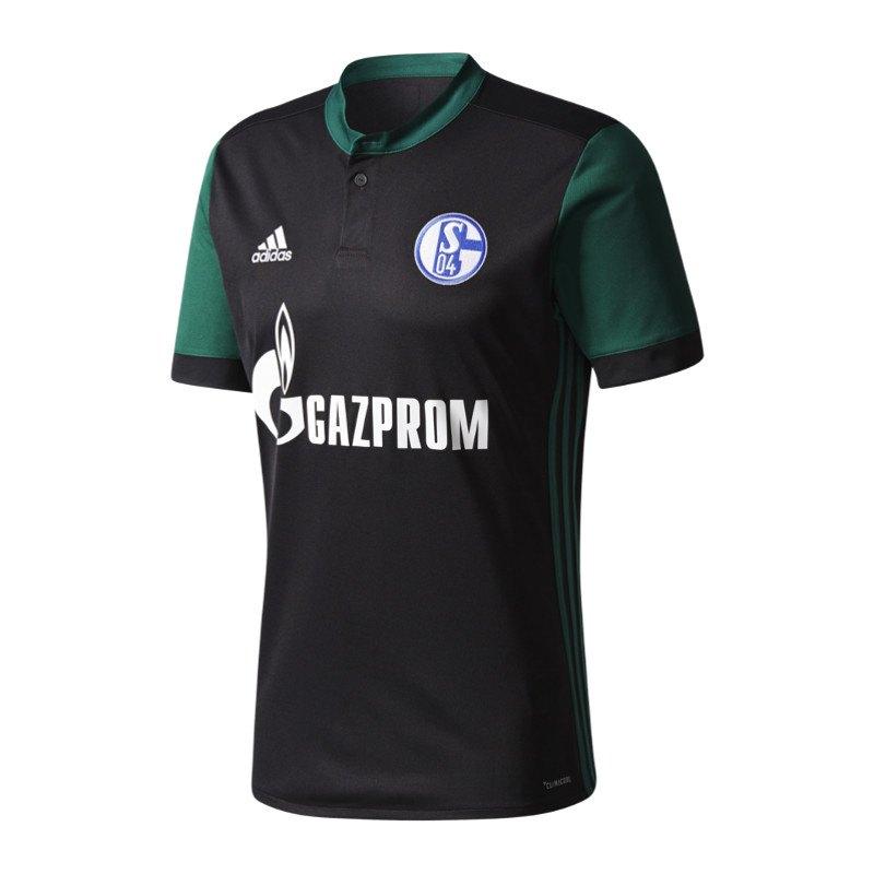 adidas FC Schalke 04 Trikot 3rd Kids 17/18 Schwarz - schwarz