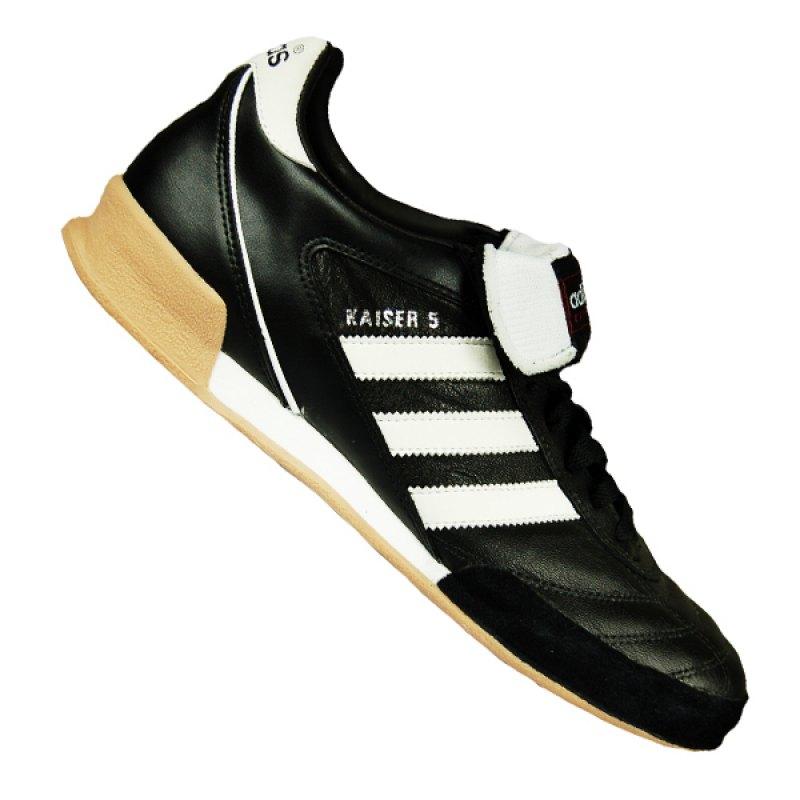 adidas Kaiser 5 Goal Halle Schwarz Weiss - schwarz