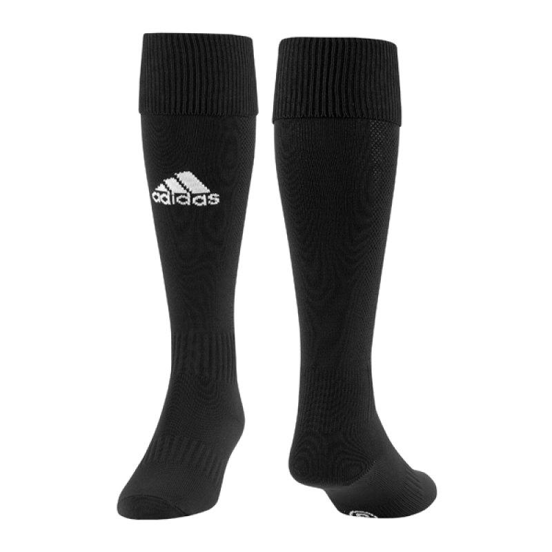 adidas Milano Fussballstutzenstrumpf Schwarz - schwarz