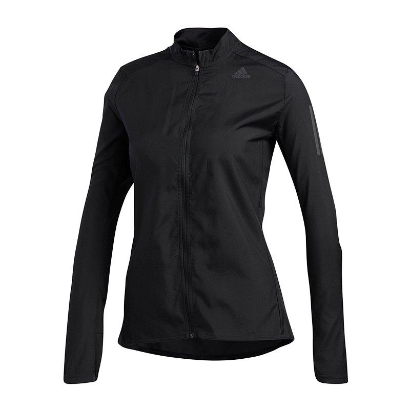 adidas Own The Run Jacket Running Damen Schwarz - schwarz
