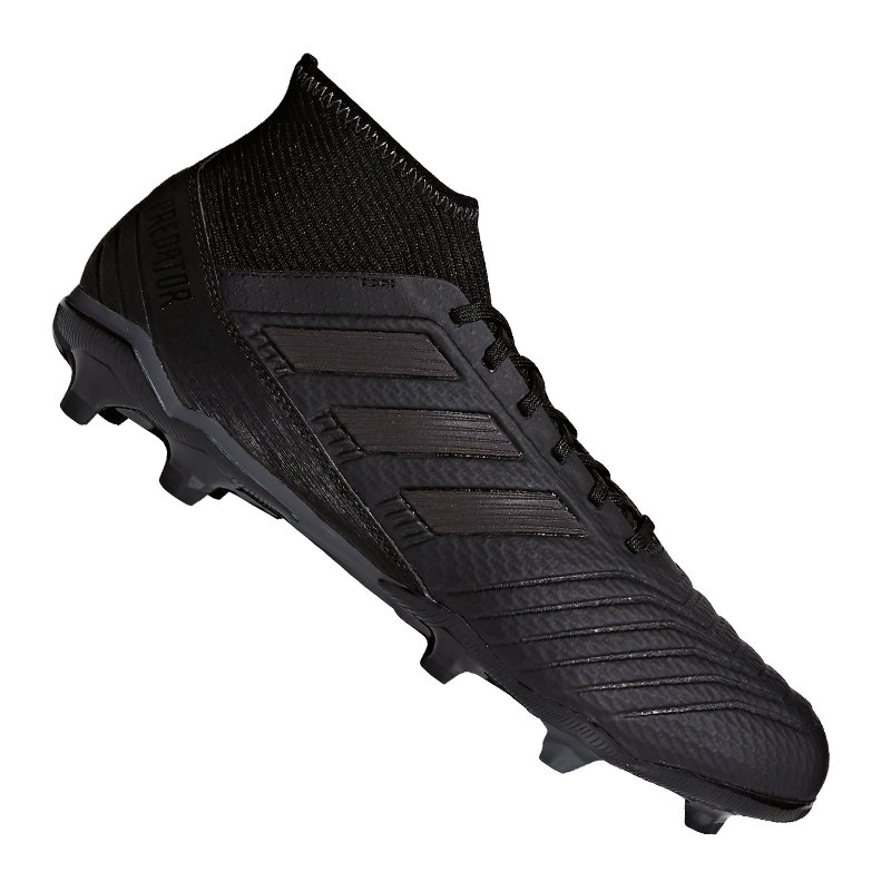 adidas Predator 18.3 FG Schwarz - schwarz