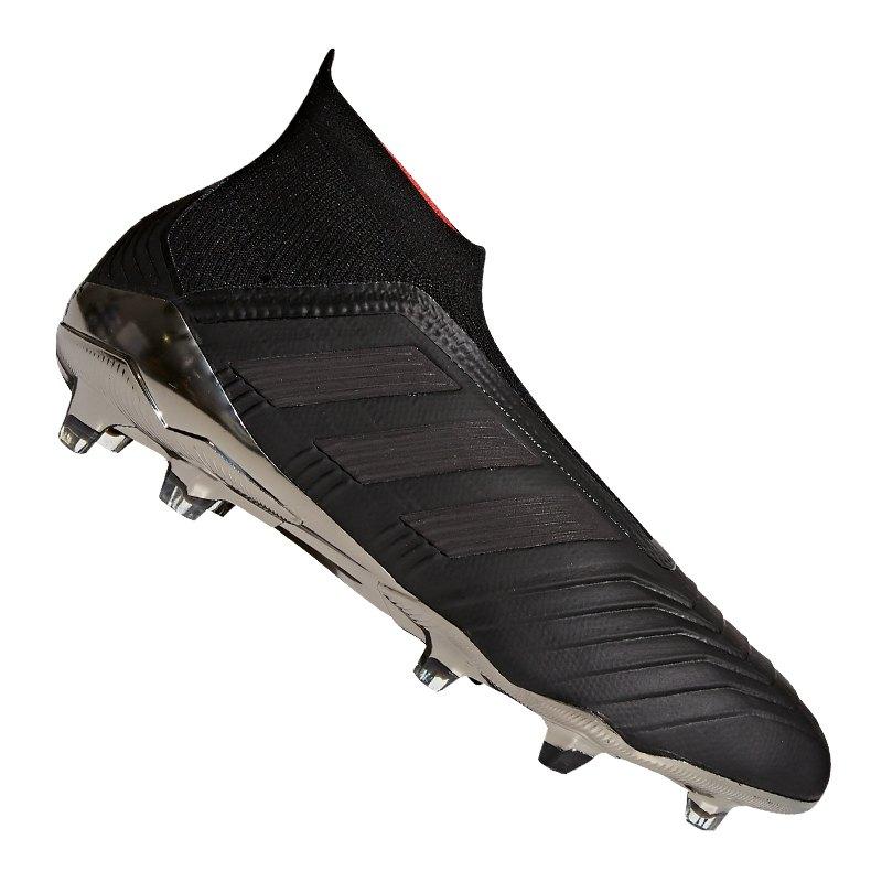 adidas Predator 18+ FG Schwarz - schwarz