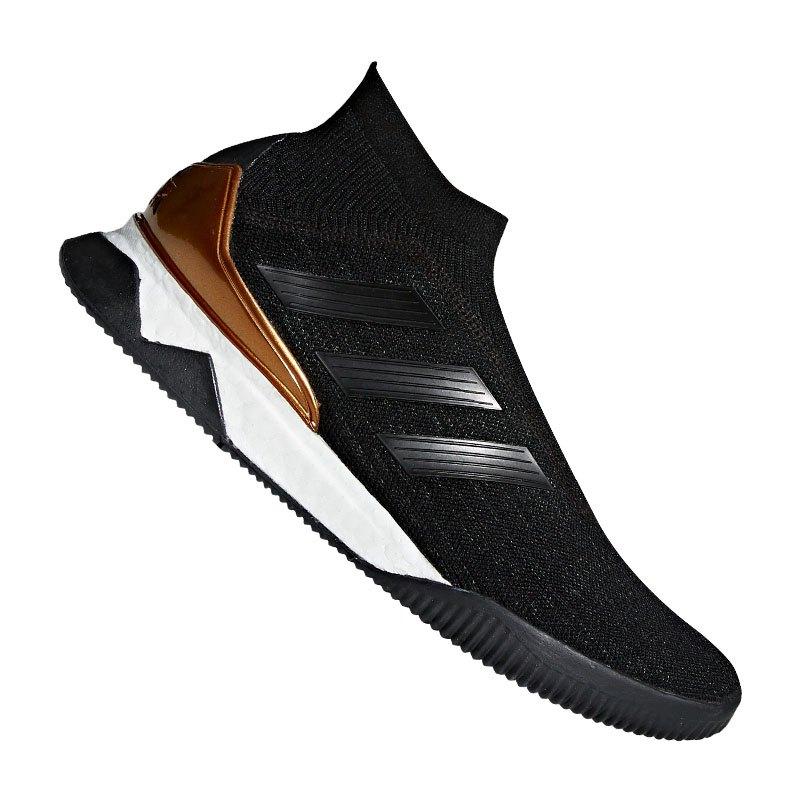 adidas Predator Tango 18+ TR Schwarz Weiss Gold - schwarz