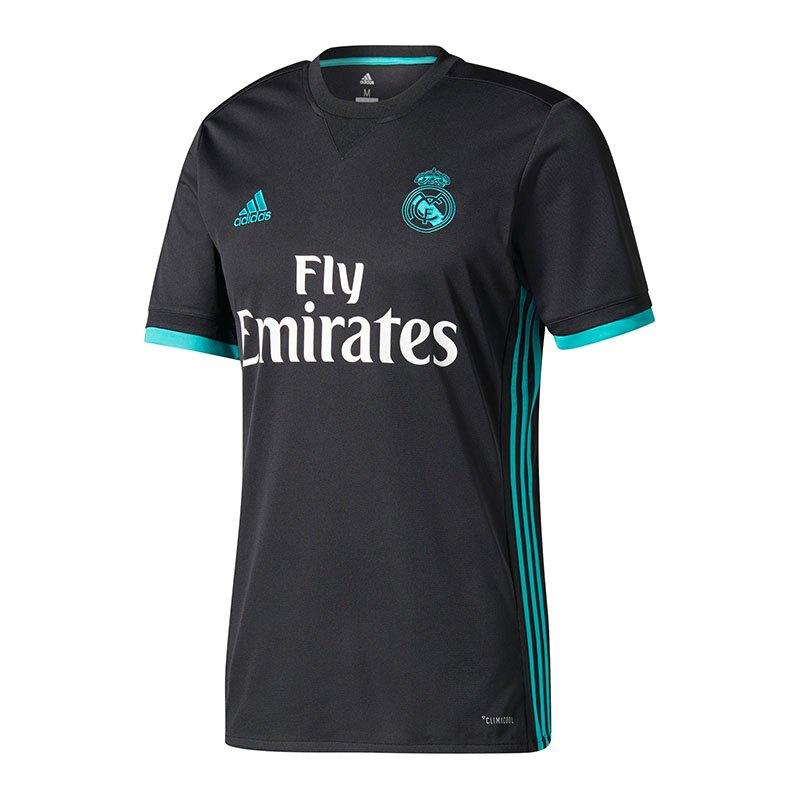 adidas Real Madrid Trikot Away Kids 2017/2018 - schwarz