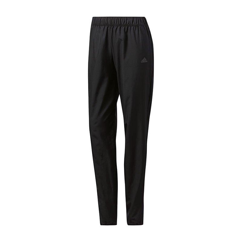adidas Response Shell Pants Running Damen Schwarz - schwarz