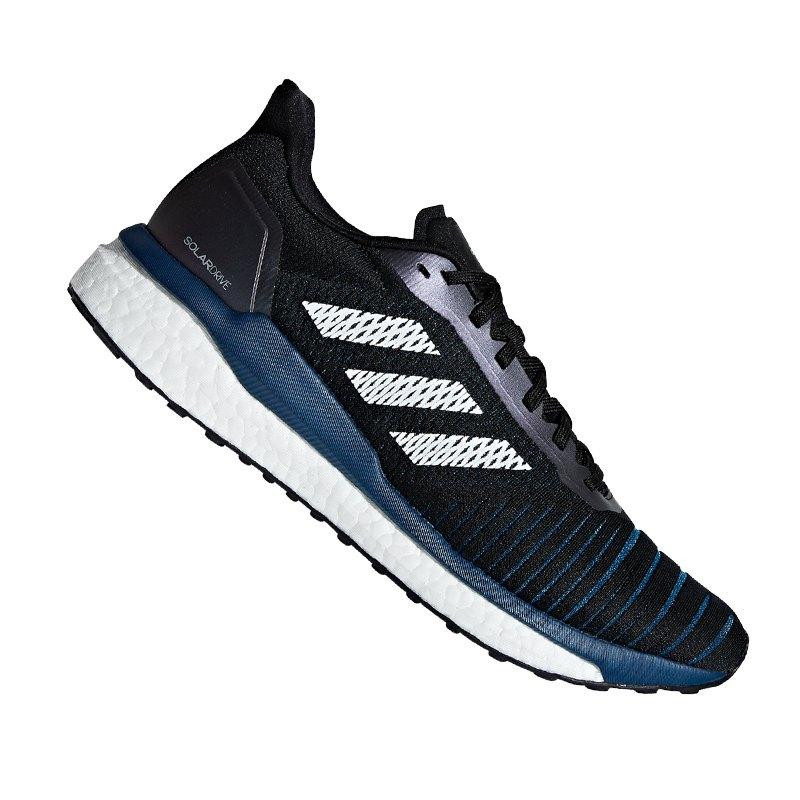 adidas Solar Drive Running Schwarz Blau - schwarz
