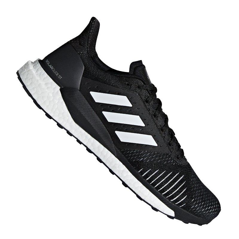 adidas Solar Glide ST Running Schwarz Grau - schwarz