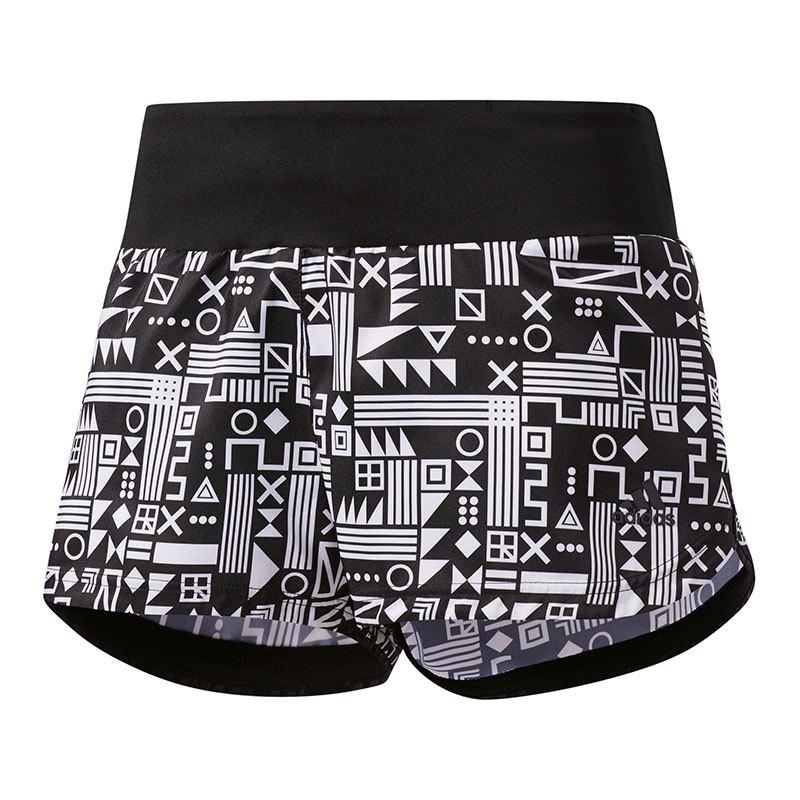 adidas Supernova Glide Short Print Running Damen - schwarz