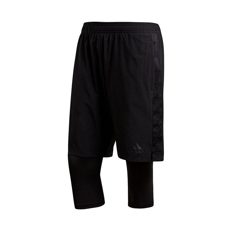 adidas Tango Player Short Schwarz - schwarz