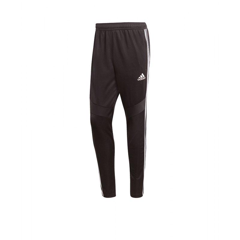 adidas Tiro 19 Trainingshose Pant Schwarz Weiss - schwarz