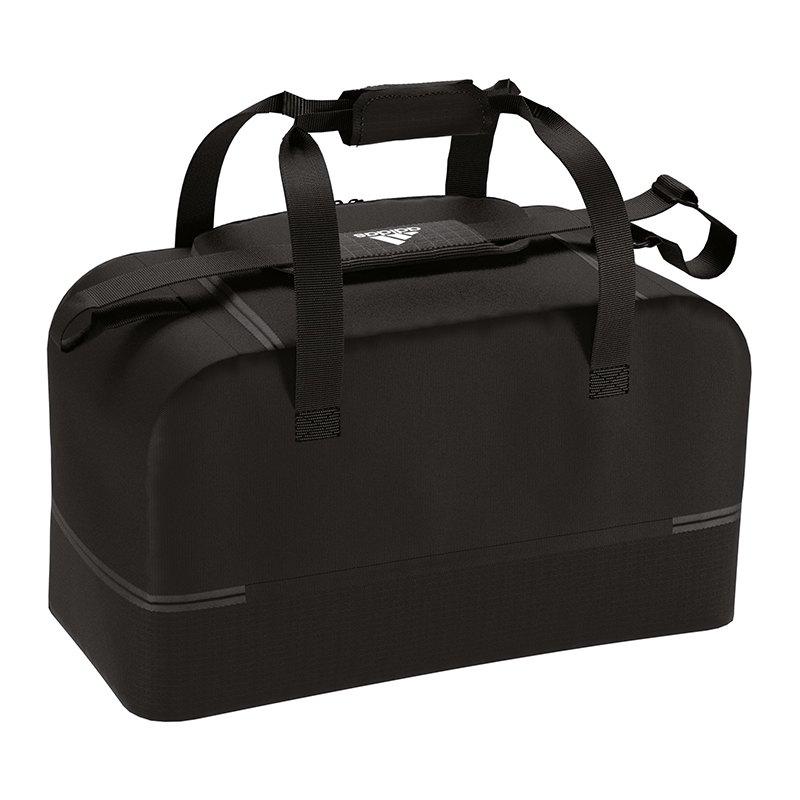 adidas Tiro Duffel Bag Tasche Gr. M Schwarz Weiss - schwarz