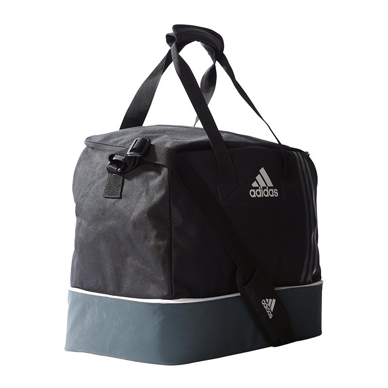 adidas Tiro Teambag Bottom Compart Gr. S Schwarz - schwarz