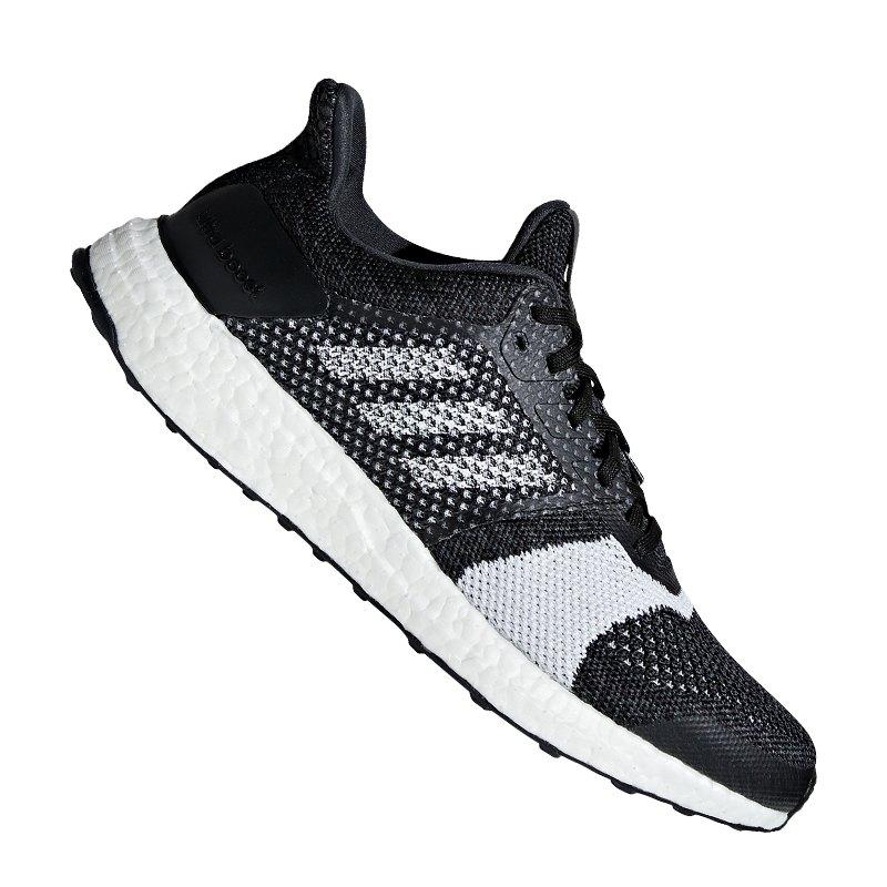 adidas Ultra Boost ST Running Schwarz Weiss - schwarz