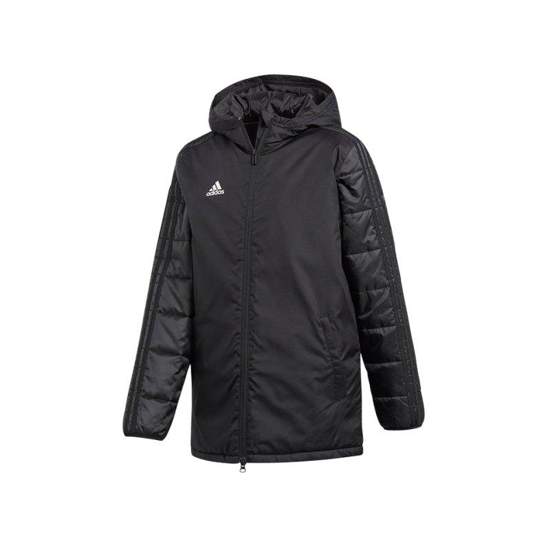 adidas Winter Jacket 18 Jacke Kids Schwarz - schwarz