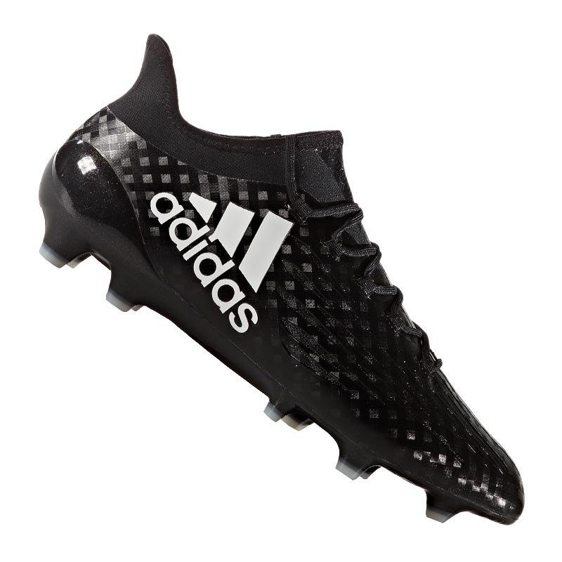 adidas X 16.1 FG Schwarz Weiss - schwarz