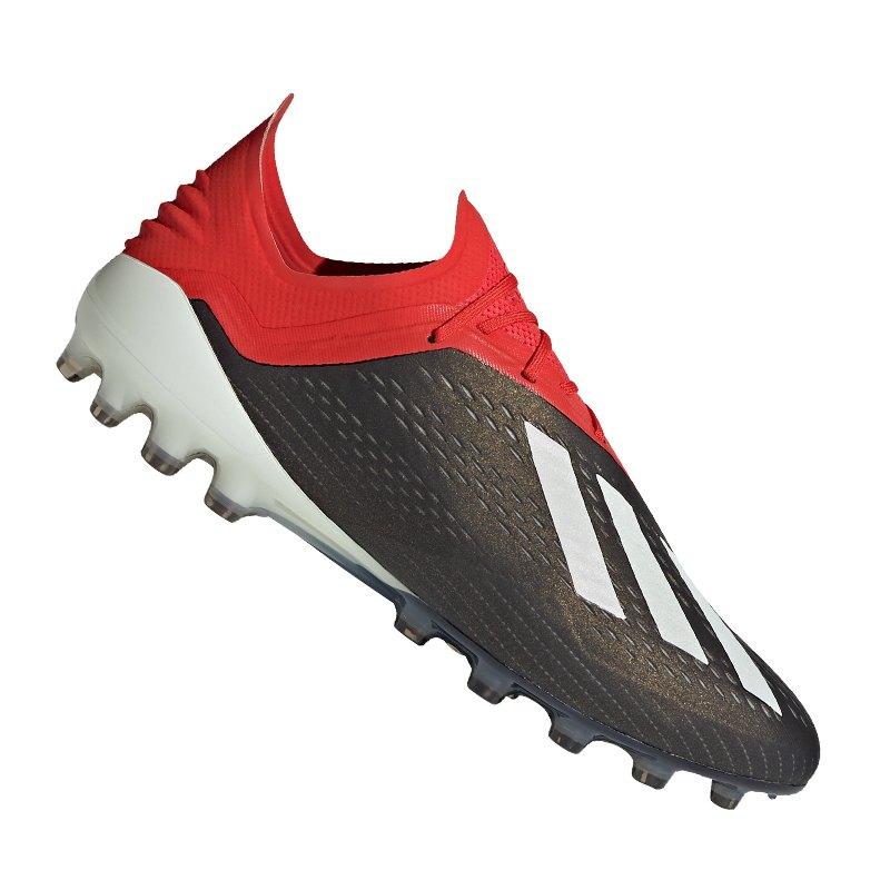 adidas X 18.1 AG Schwarz Rot - schwarz