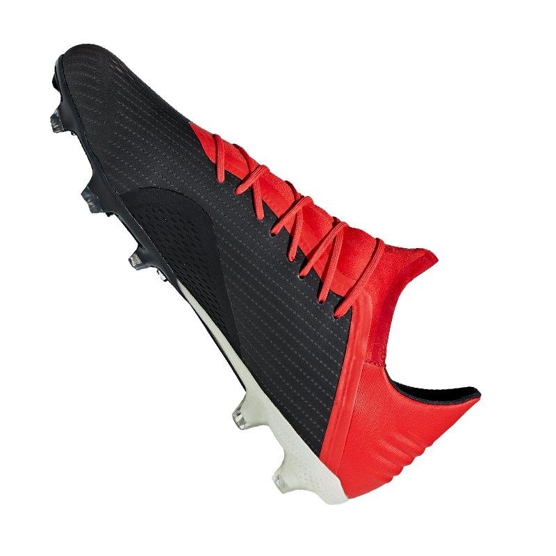 promo code 23561 86aa8 ... adidas X 18.2 FG Schwarz Rot - schwarz ...