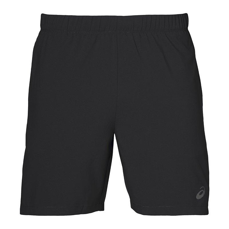 Asics 7 IN Short Hose kurz Running Schwarz F0904 - schwarz