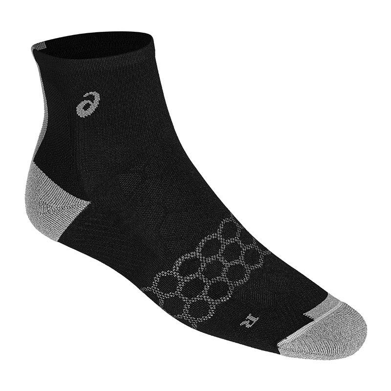 Asics Speed Quarter Socks Socken Schwarz F0904 - schwarz