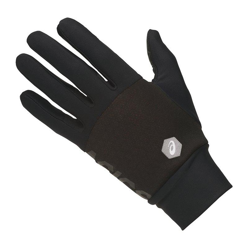 Asics Thermal Gloves Running Schwarz F002 - schwarz