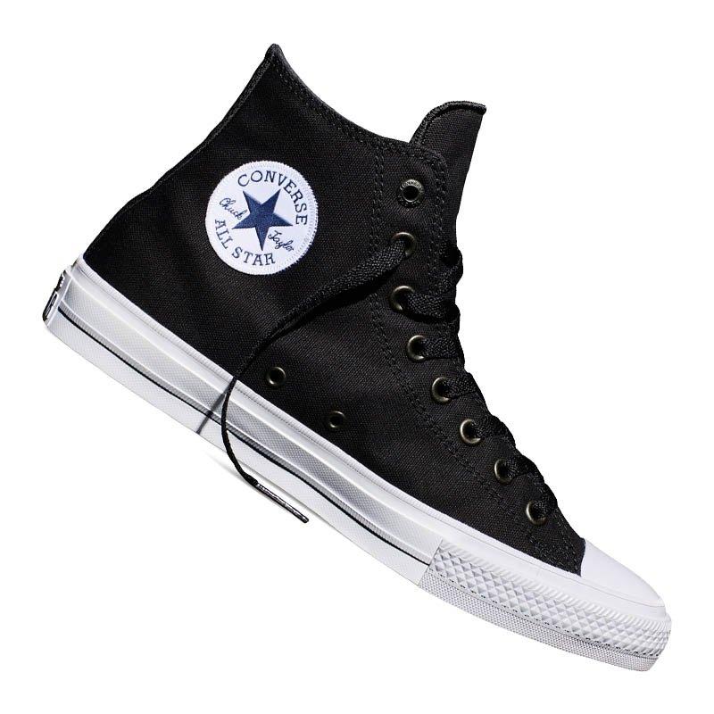 Converse Chuck Taylor All Star II High Schwarz - schwarz