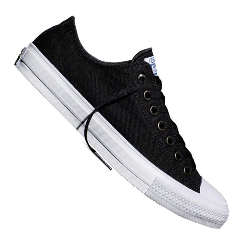 Converse Chuck Taylor All Star II Sneaker Schwarz - schwarz