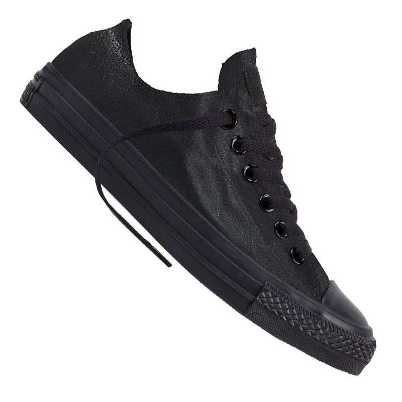 converse chuck taylor as low sneaker damen schwarz schwarz. Black Bedroom Furniture Sets. Home Design Ideas