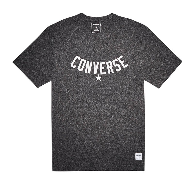 Converse Essentials Supima Graphic T-Shirt FA02 - schwarz