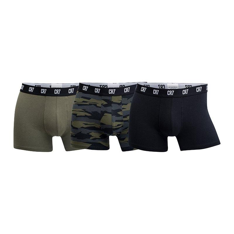 CR7 Basic Underwear Boxershort 3er Pack Multi - schwarz