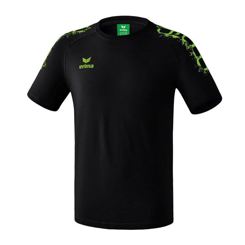 Erima 5-Cubes Graffic T-Shirt Basic Kids Schwarz - schwarz