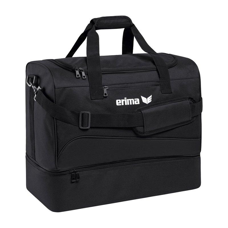 Erima Club 1900 2.0 Bottom Case Bag Gr.S Schwarz - schwarz