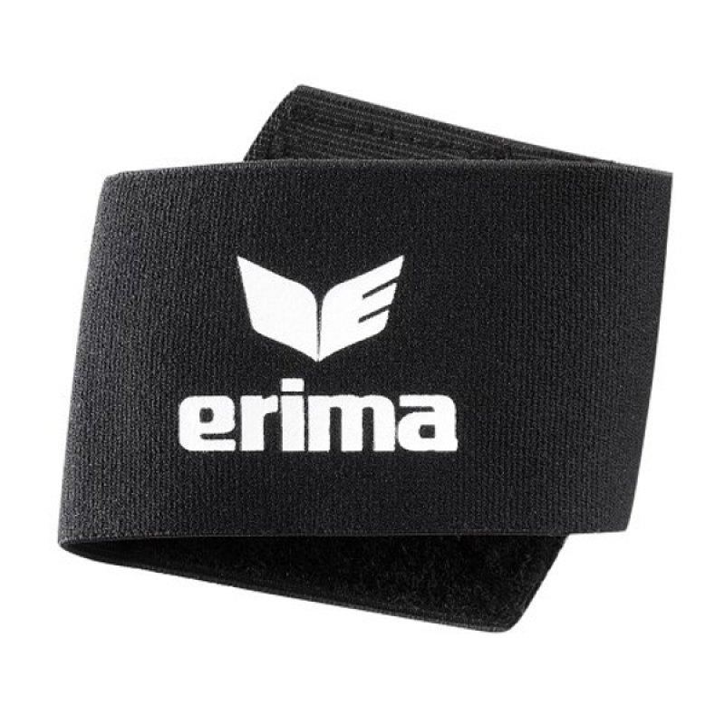 Erima Guard Stays Schienbeinschonerhalter Schwarz - schwarz