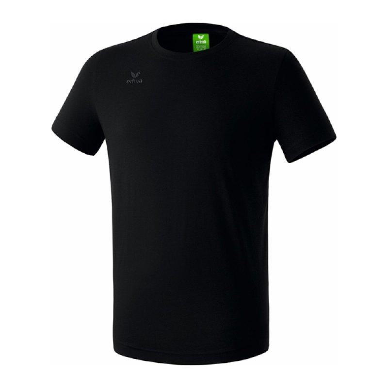 Erima Teamsport T-Shirt Kids Schwarz - schwarz