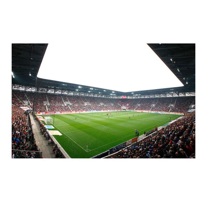 FC Augsburg Fototapete Schwarz Weiss - schwarz