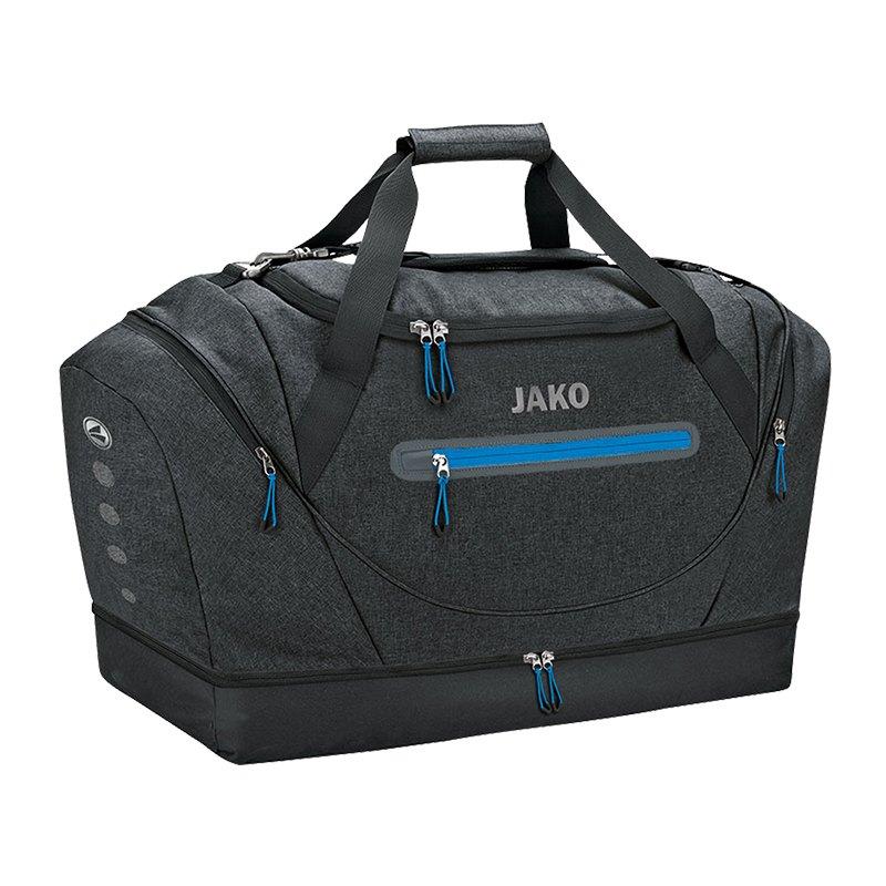 Jako Champ Sporttasche mit Bodenfach Gr. 2 F08 - schwarz