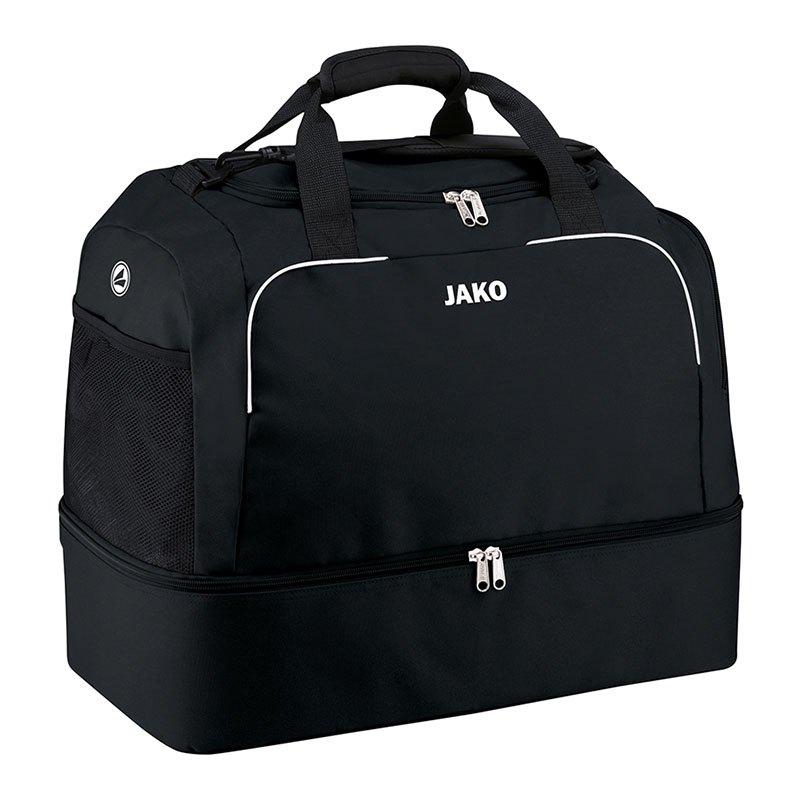 Jako Classico Sporttasche mit Bodenfach Gr. 3 F08 - schwarz