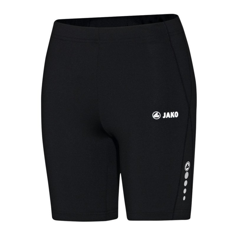 Jako Run Short Tight Running Damen Schwarz F08 - schwarz