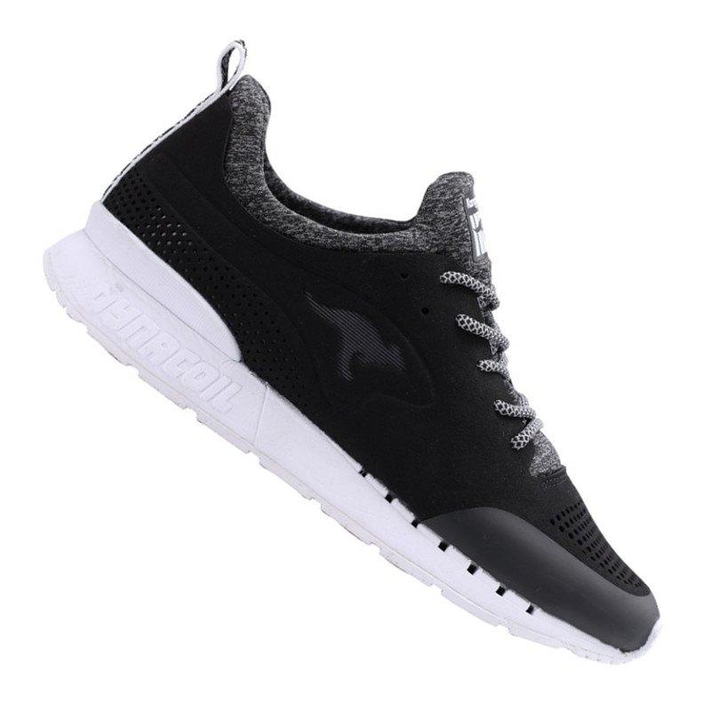 KangaROOS Coil Semi Sneaker Schwarz Weiss F501 - schwarz