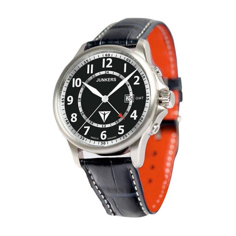 kicker Junkers Armbanduhr Sonderedition - schwarz