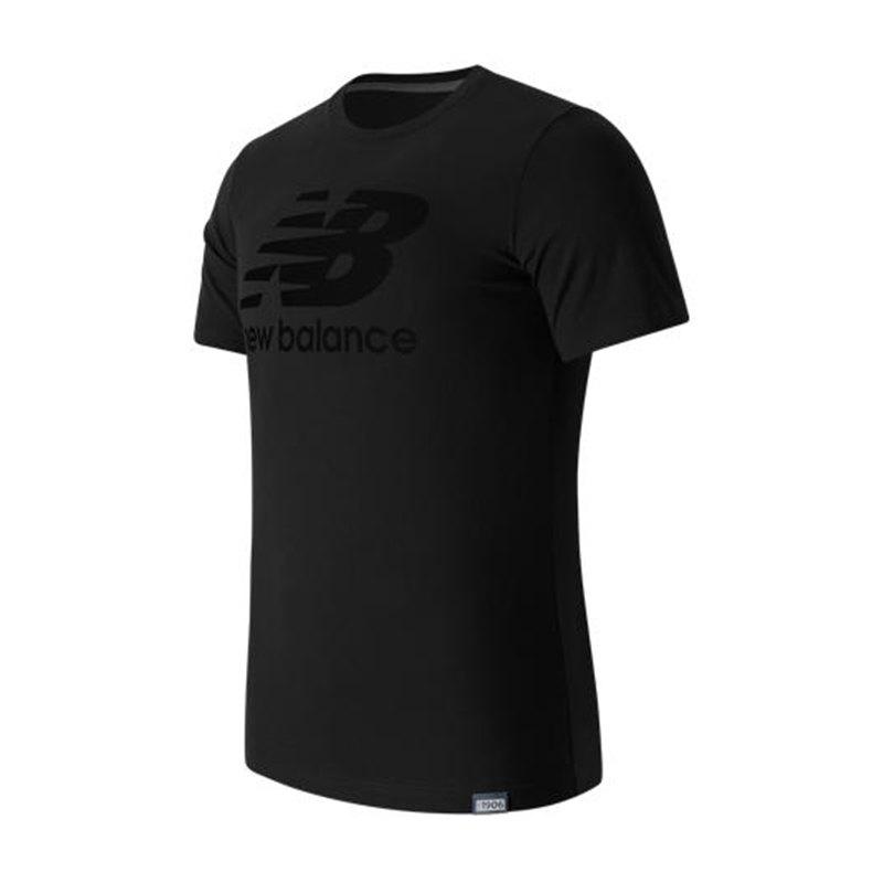 New Balance MT63554 Classics T-Shirt Logo F8 - schwarz