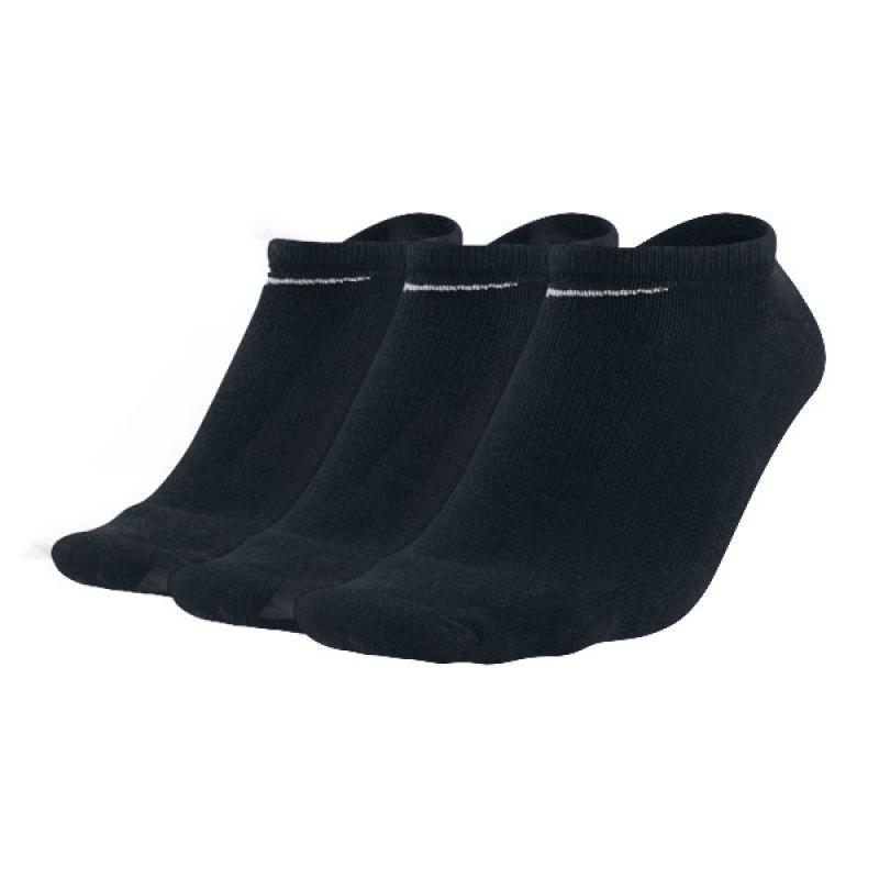 Nike 3er Pack Socken Füsslinge Sneaker F001 - schwarz