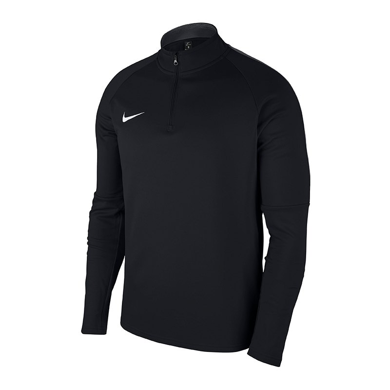 Nike Academy 18 Drill Top Sweatshirt Schwarz F010 - schwarz