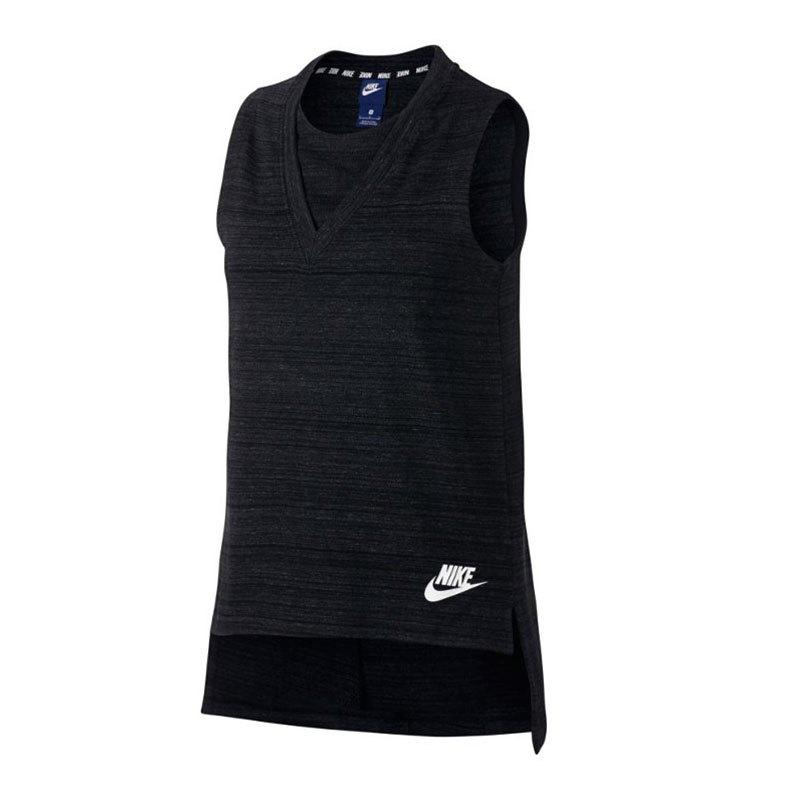 Nike Advance 15 Tank Top Damen F010 - schwarz