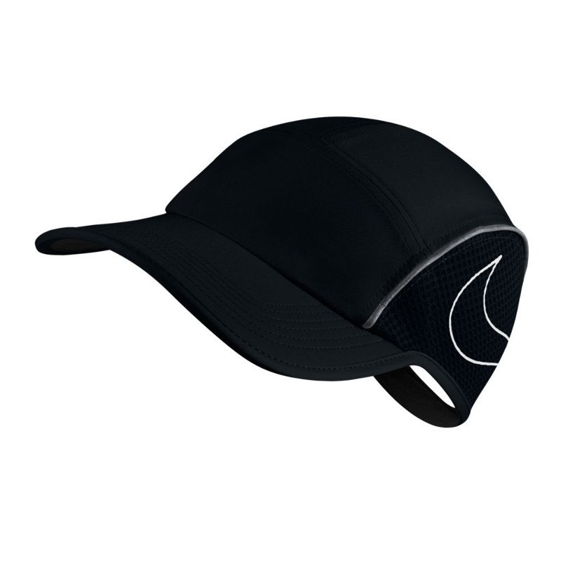 Nike AeroBill AW84 Cap Running Damen Schwarz F010 - schwarz