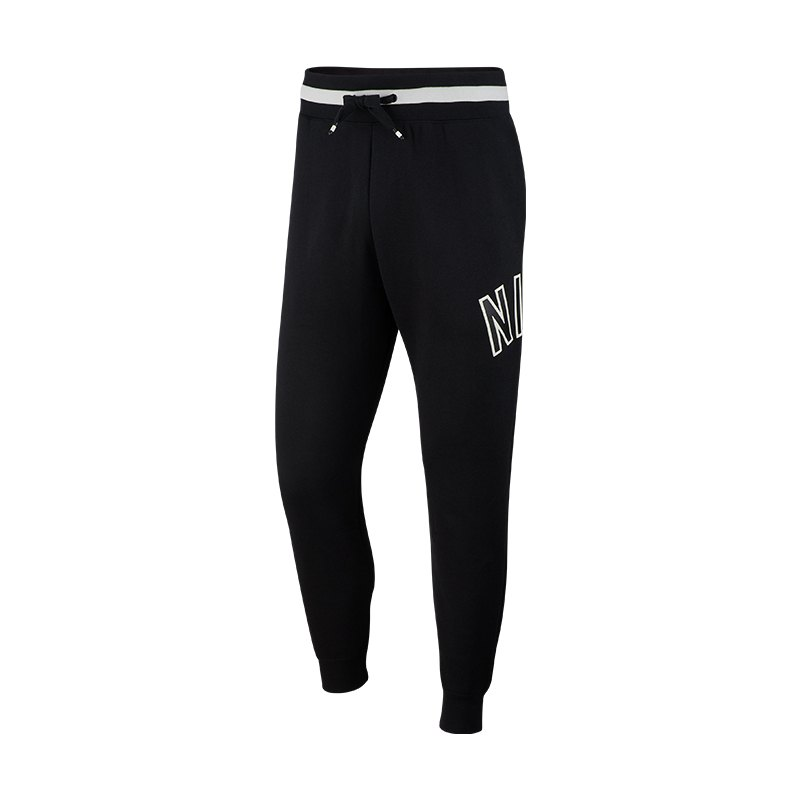 Nike Air Retro Pant Jogginghose Schwarz F010 - schwarz
