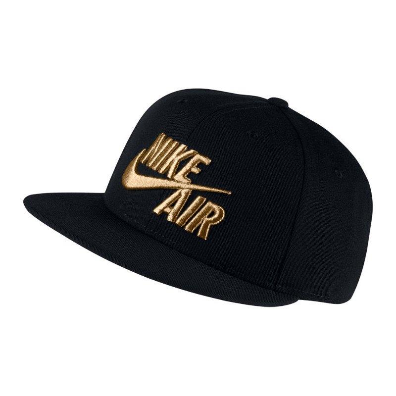 Nike Air True Snapback Cap Schwarz F011 - schwarz